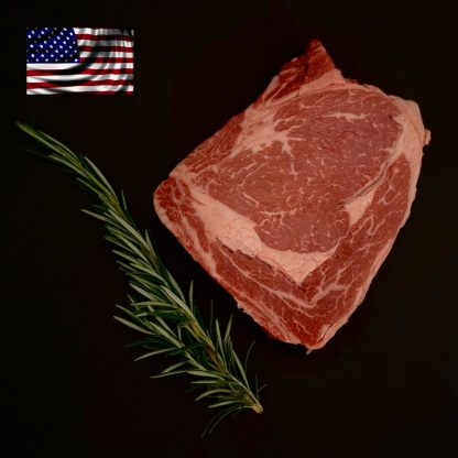 Black Angus Ribeye Steak - Creekstone - USA