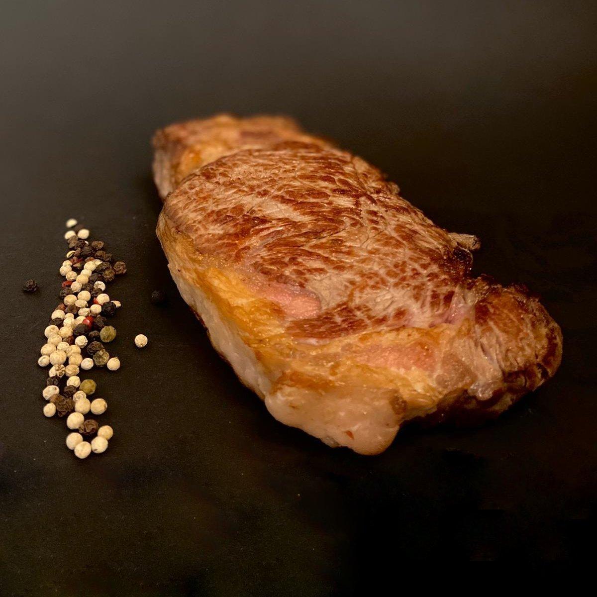 Dry Aged Roastbeef Steak fertig gebraten - Carneluja