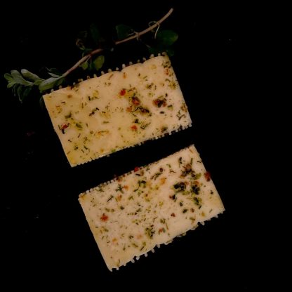 Grillkäse Kräuter - vegetarisch Grillen