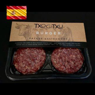 Txogitxu Burger Fleisch