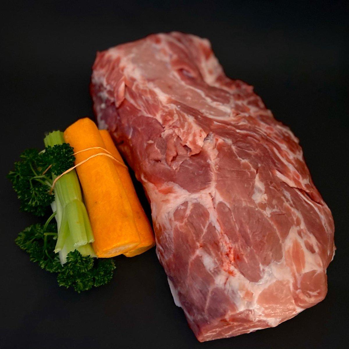 Hällischer Schweinehals am Stück