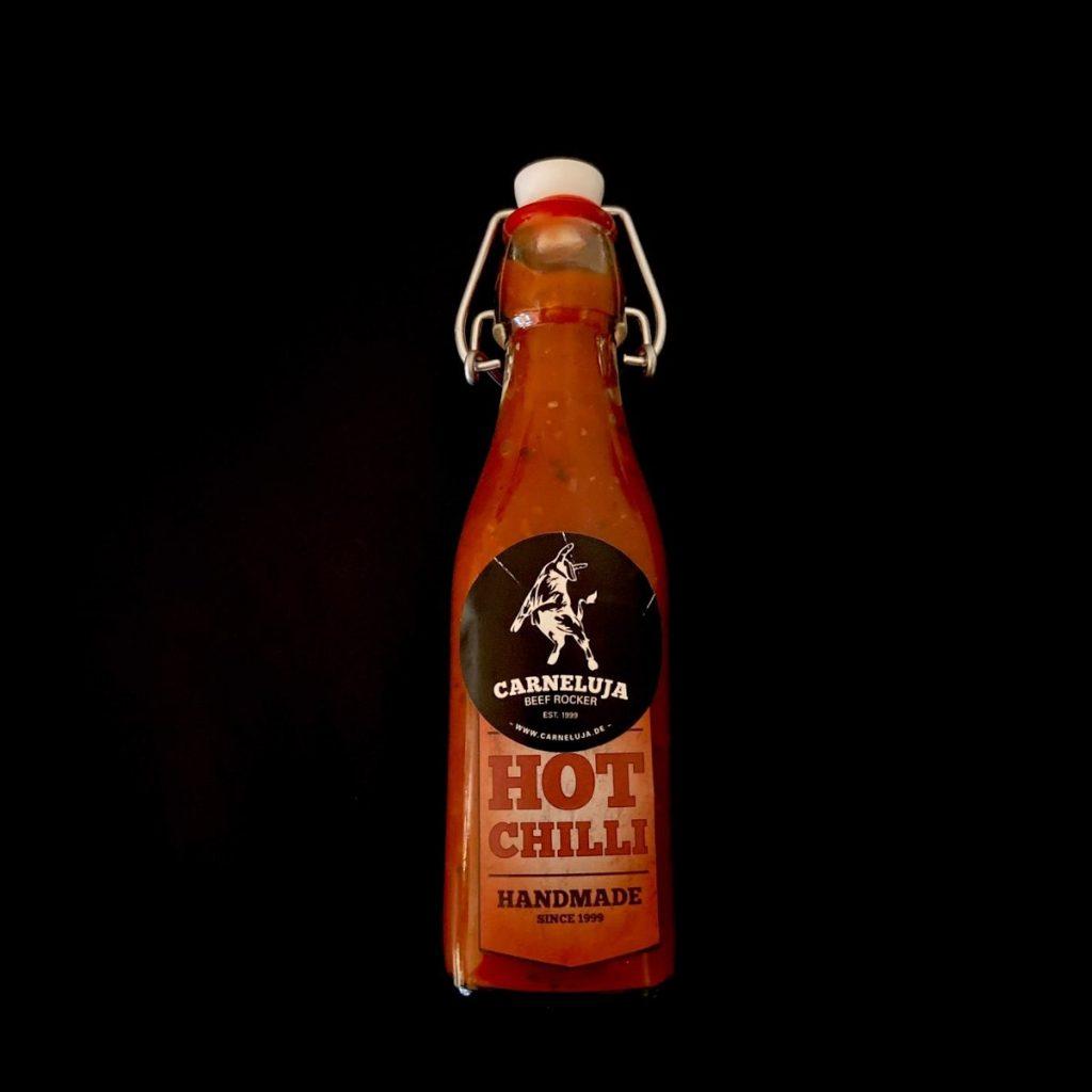 Carneluja - Hot Chilli Soße zum Grillen