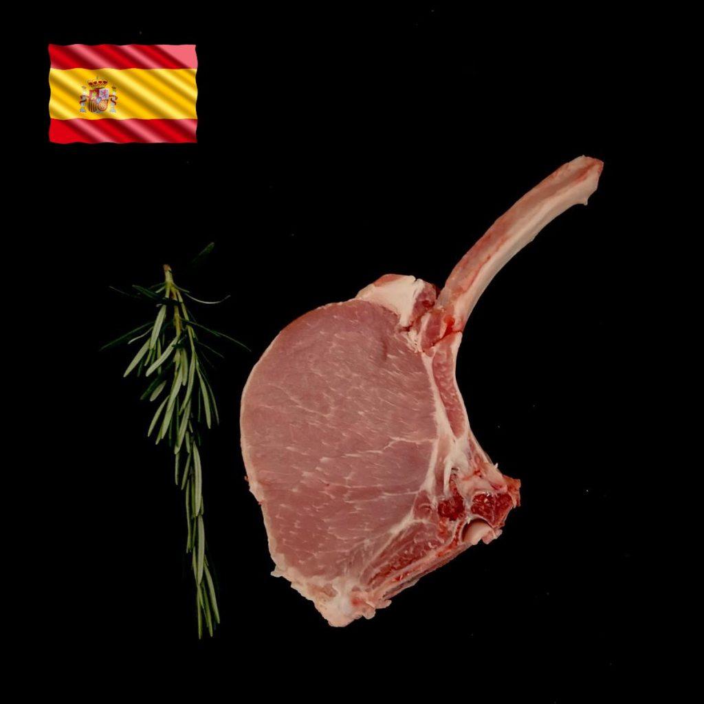Iberico Kotelett Steak aus Spanien in feinster Qualität