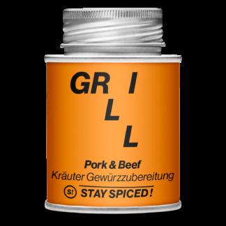 Stay Spiced! - GRILL - Grill Pork und Beef Herb Spice