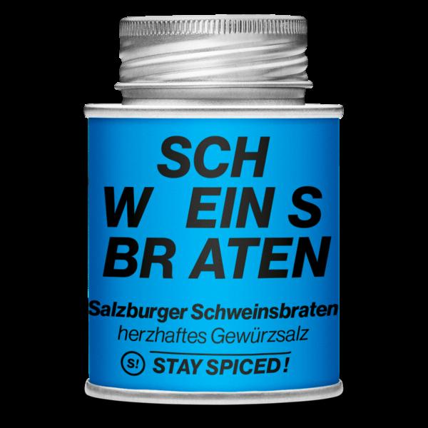 Stay Spiced! - SCHWEINSBRATEN - Original Salzburger Schweinsbraten, herzhaftes Gewürzsalz