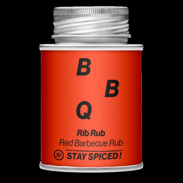 Stay Spiced! - BBQ - RibRub, Red Barbecue Rub